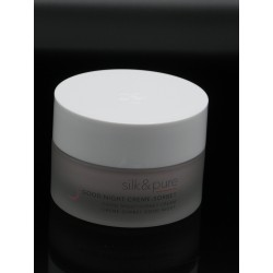 silk und pure Good Nigth Creame Sorbet Charlotte Meentzen entpackt single cosmetics kosmetik shop