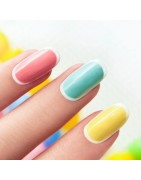 Nails - hard but sensitive. Beautiful to attract attention.